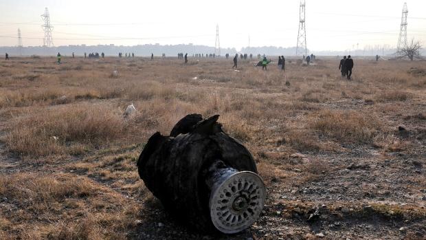 PS752 crash scene