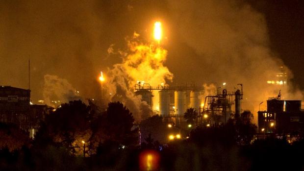 Tarragona chemical fire