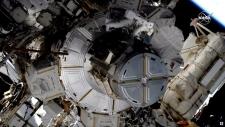 Female spacewalk