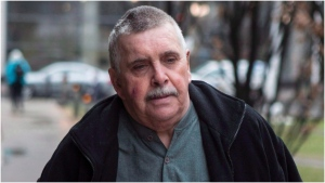 Gordon Stuckless arrives at court in Toronto on Tuesday April 22 , 2014. Prosecutors are appealing the sentence for the man at the heart of the Maple Leaf Gardens sex abuse scandal.THE CANADIAN PRESS/Chris Young