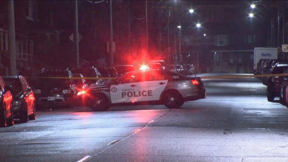 A teenage boy was injured following a shooting near Dupont and Dufferin streets.