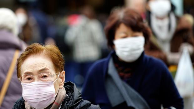 Japan China virus