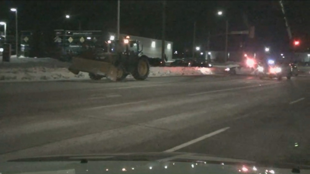 One female pedestrian dead, another injured after they were struck by tractor in Barrie