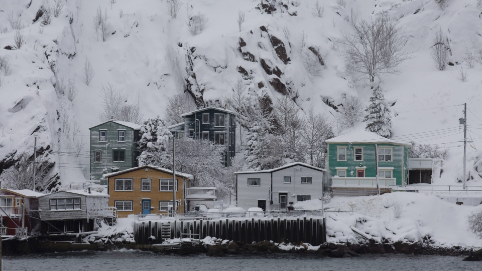 The view of The Battery is seen in St. John's on Monday, January 6, 2020, following the first major snowstorm of the year.  THE CANADIAN PRESS/Paul Daly