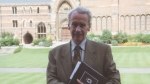 Christopher Tolkien is pictured at Oxford in this 1992 photo provided by The Tolkien Society. (Charles E. Noad)