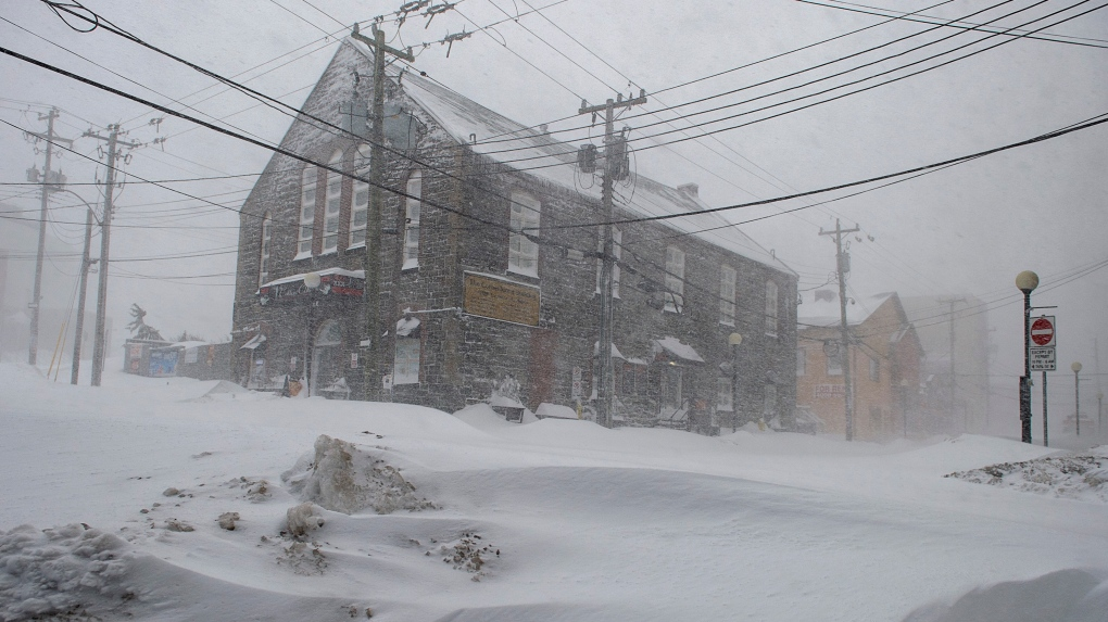 'Unprecedented' blizzard prompts state of emergency in St. John's, N.L.