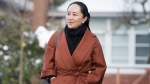 Meng Wanzhou chief financial officer of Huawei leaves her home in Vancouver, B.C., Friday, January 17, 2020 as she heads to B.C. Supreme Court for a case management hearing. THE CANADIAN PRESS/Jonathan Hayward