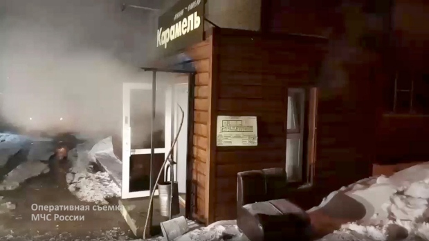 Five boiled alive in Russian hotel tragedy