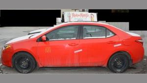 Toyota Corolla Taxicab