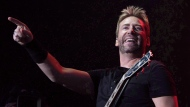 Nickelback frontman Chad Kroeger performs during Fire Aid for Fort McMurray in Edmonton on Wednesday June 29, 2016. THE CANADIAN PRESS/Amber Bracken