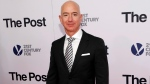 "In this Dec. 14, 2017, file photo, Jeff Bezos attends the premiere of ""The Post"" at The Newseum in Washington. United Nations experts on Wednesday, Jan. 22, 2020 have called for ""immediate investigation"" by the United States into information they received that suggests that Jeff Bezos' phone was hacked after receiving a file sent from Saudi Crown Prince Mohammed bin Salman's WhatsApp account. (Photo by Brent N. Clarke/Invision/AP, File)"