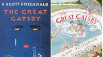 "This combination of cover images released by Scribner shows the 2018 cover image of the novel ""The Great Gatsby"" by F. Scott Fitzgerald, left, and ""The Great Gatsby: The Graphic Novel,"" with illustrations by Aya Morton and adapted text by Fred Fordham. Starting next January, F. Scott Fitzgerald's classic Jazz Age tale will belong to everyone. The novel's copyright is set to expire at the end of 2020, meaning that anyone will be allowed to publish the book, adapt it to a movie, make it into an opera or stage a Broadway musical. (Scribner via AP)"