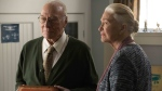 "Actors Christopher Plummer and Diane Ladd are shown in a scene from the film ""The Last Full Measure."" THE CANADIAN PRESS/HO-Roadside Attractions-Jackson Lee Davis"