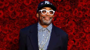 Spike Lee poses for a photo on the red carpet at the grand opening of Tyler Perry Studios on Saturday, Oct. 5, 2019, in Atlanta. Lee is getting a lifetime achievement award from the Toronto Black Film Festival. THE CANADIAN PRESS/AP-Photo by Elijah Nouvelage/Invision/AP