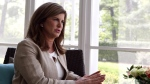 Conservative Interim Leader Rona Ambrose is shown during an interview with The Canadian Press in Ottawa on May 18, 2017. THE CANADIAN PRESS/Fred Chartrand
