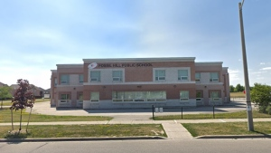 Fossil Hill PS in Vaughan is seen in a Google Streetview image.