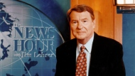 "This undated image released by PBS shows Jim Lehrer of ""The NewsHour with Jim Lehrer."" PBS announced that Lehrer died Thursday, Jan. 23, 2020, at home. He was 85. (PBS via AP)"