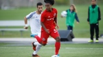 Toronto FC 2's Jayden Nelson is seen in this undated handout photo. Toronto FC signed its third homegrown player in as many days Thursday, adding 17-year-old forward Jayden Nelson to its first-team roster. THE CANADIAN PRESS/HO, Lucas Kschischang