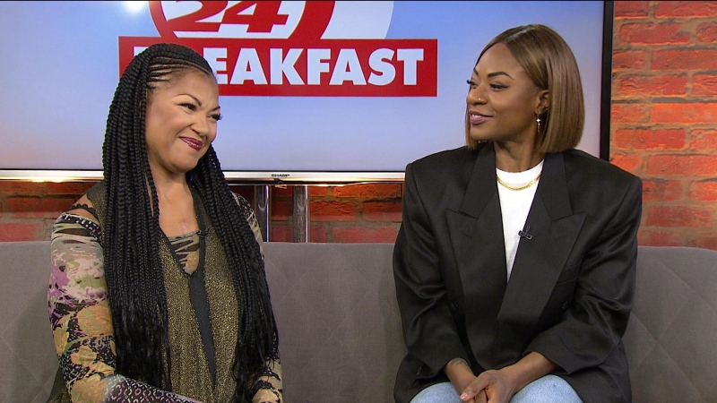 Jully Black and Measha Brueggergosman