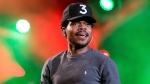 "FILE - In this Sept. 4, 2016, file photo, Chance The Rapper performs at The Budweiser Made In America Festival in Philadelphia. Celebrities, beware: ""Punk'd"" is being revived. (Photo by Michael Zorn/Invision/AP, File)"
