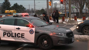 Girl seriously injured after being hit by a vehicle in Scarborough