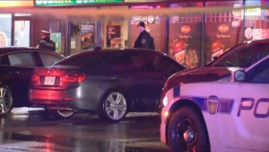 Police are investigating a stabbing in Mississauga on Saturday morning.