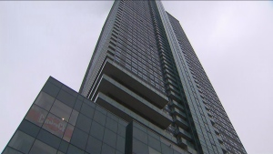 Residents of a downtown highrise may not have water for at least seven weeks, management says.