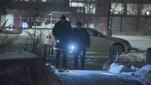Toronto police say the woman who was stabbed near York University on Jan. 22 was also shot.