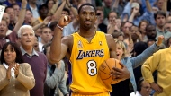 FILE - Bryant, the 18-time NBA All-Star who won five championships and became one of the greatest basketball players of his generation during a 20-year career with the Los Angeles Lakers, died in a helicopter crash Sunday, Jan. 26, 2020. He was 41. (AP Photo/Kevork Djansezian)
