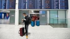 Pearson airport, coronavirus