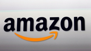 The Amazon logo is seen in this file photo. (AP Photo/Reed Saxon, File)
