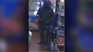 Police are looking for this man who allegedly tampered with food at a convenience store in the west-end. (Handout)