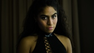 Jessie Reyez poses for a photgraph during the 2019 Polaris Music Prize in Toronto on Monday, Sept. 16, 2019. THE CANADIAN PRESS/Nathan Denette