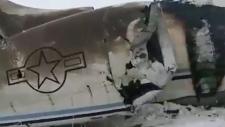 E-11A wreckage