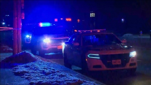 A 16-year-old boy was rushed to hospital after a stabbing in Mississauga Monday night. (CTV News Toronto)