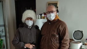 Wayne Duplessis, right, and his wife Emily Tjandra pose for a photo in their home in Wuhan, China in this handout photo. A Canadian teacher who has been living in China for about six years has some advice for those who want to evacuate from the epicentre of an outbreak of a new form of coronavirus. Don't. Wayne Duplessis, a teacher at Wuhan Optics Valley Weiming Experimental School, in Hubei province said he doesn't think it's wise. THE CANADIAN PRESS/HO, Wayne Duplessis