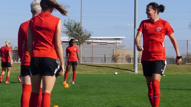 Christine Sinclair becomes soccer's all-time leader in global  goals with 185th tally