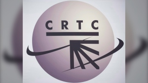 A CRTC logo is shown in Montreal, Monday, Sept. 10, 2012. THE CANADIAN PRESS/Graham Hughes