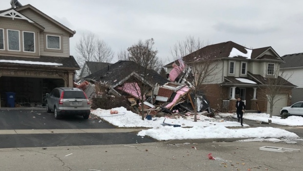 Gas Explosion Levels House In Guelph Cp24 Com