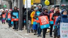 Ontario teachers strikes