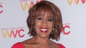 FILE - In this Oct. 22, 2019 file photo, Gayle King attends the 2019 Women's Media Awards, hosted by The Women's Media Center, at the Mandarin Oriental New York in New York. King is facing death threats following a social media backlash caused by an interview with retired WNBA star Lisa Leslie that concerned the late Kobe Bryant. (Photo by Christopher Smith/Invision/AP, File)