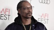 "Snoop Dogg attends 2019 AFI Fest opening night premiere of ""Queen and Slim"" on Thursday, Nov. 14, 2019, in Los Angeles. (Photo by Richard Shotwell/Invision/AP)"