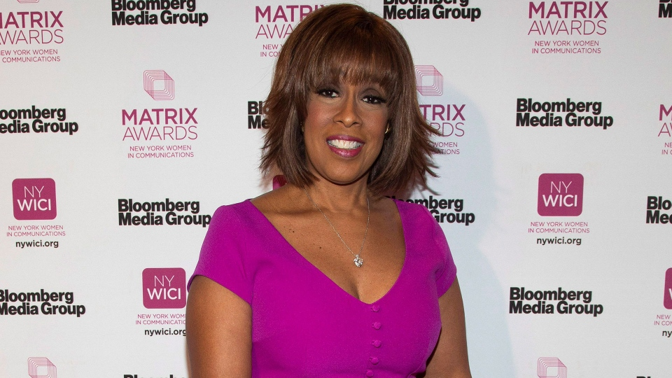 Gayle King attends the Matrix Awards at the Sheraton New York Times Square on Monday, May 6, 2019, in New York. (Photo by Andy Kropa/Invision/AP)