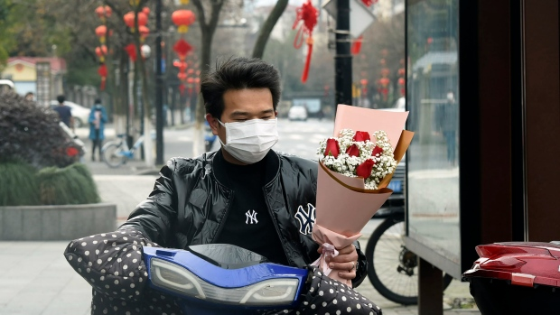 Valentine's Day bouque, Zhejiang Province,