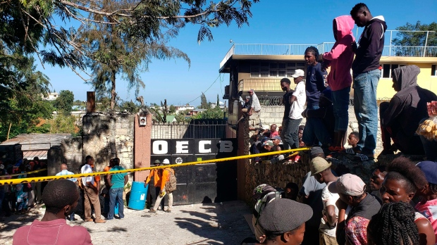 Haiti orphanage fire kills 15