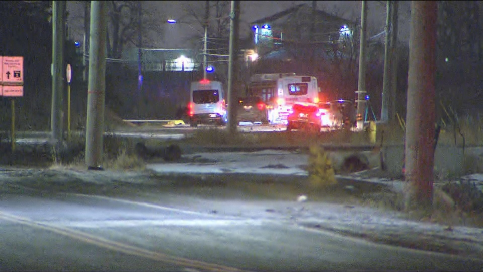 Durham police are investigating a head-on collision in Whitby on Friday night that killed one person.