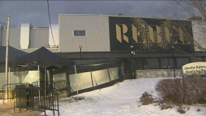 Paramedics say one person was stabbed and another was assaulted following an altercation at Rebel Nightclub early Saturday morning.