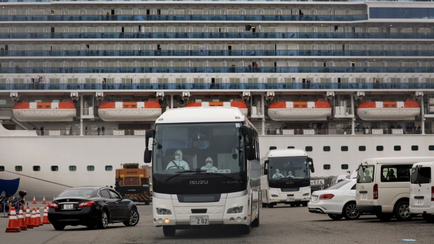 COVID-19: Americans evacuated from Japanese cruise ship face 2nd quarantine