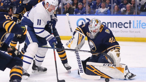 Leafs' Johnsson out at least eight weeks with knee injury; Rielly progressing