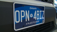 New Ontario license plates